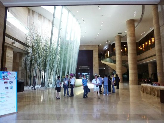 Baiyun International Convention Center: The reception foyer at the South Tower