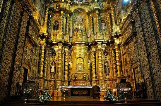 Iglesia de La Compania de Jesús: Altar