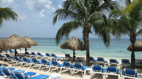 Allegro Cozumel: Beach area