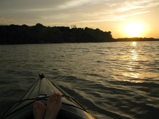 A Day Away Kayak Tours: paradise lost