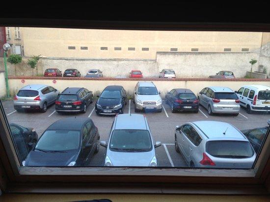 Ibis Styles Nancy Centre Gare : La superbe vue de ma micro suite !