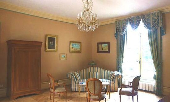 Chateau de La Rozelle : sala de estar