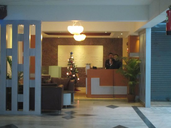 Gaju Suite Hotel: Reception