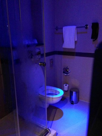 Holiday Inn Express Dubai Airport: Romantic lighting for a shower for two :)