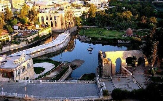 Norias Park : hamah