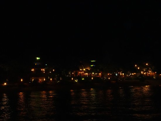 Santhiya Koh Yao Yai Resort & Spa : View from pier of the resort