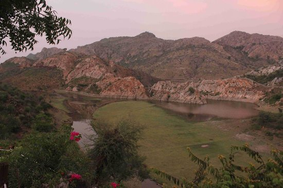 Aravali Silence Lakend Resorts & Adventures Pvt. Ltd.: View from the Room