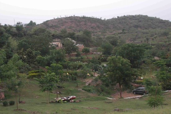 Aravali Silence Lakend Resorts & Adventures: View from outside the room