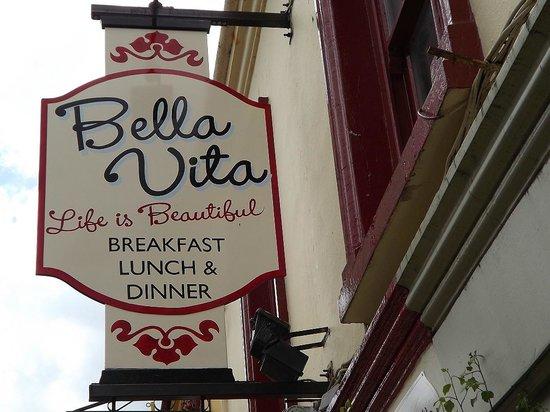 Bella Vita Ristorante: The sign