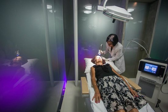 Cocoon Medical Spa: Inside the treatment Pod