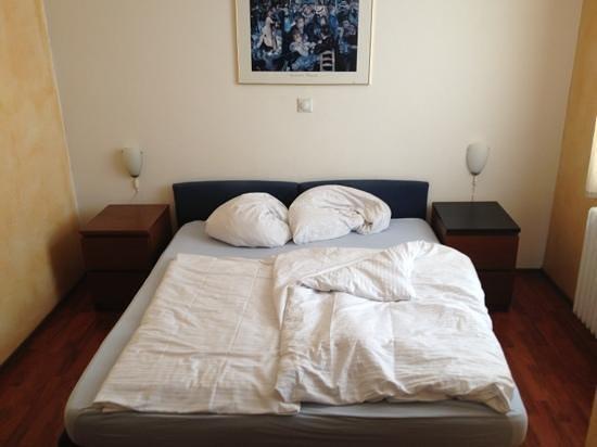 Hotel Rosengarten: Zimmer