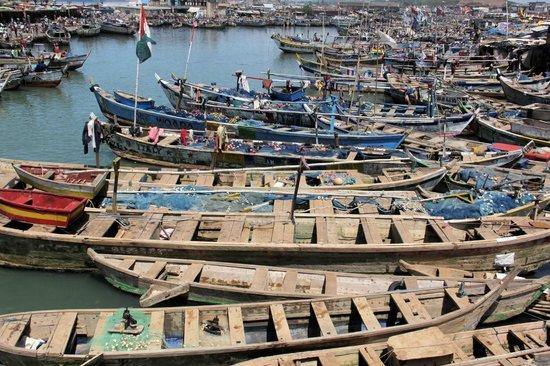 Elmina lagoon : harbor