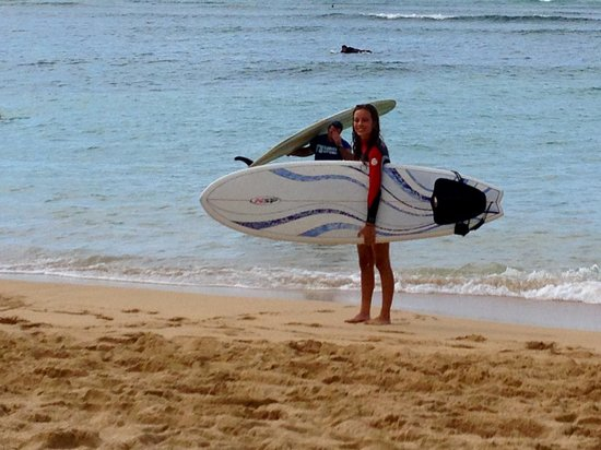 Ty Gurney Surf School : Learn how to surf!