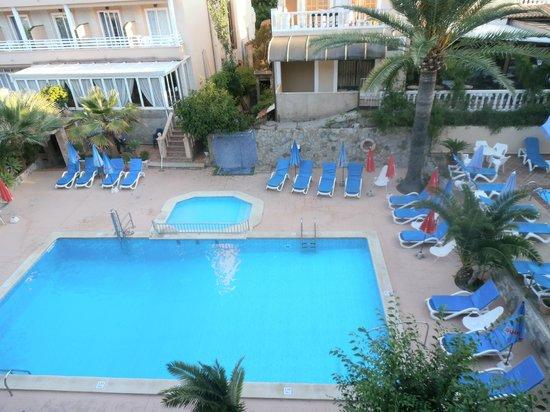 Hotel El Cupido: View