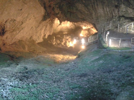 Pescorocchiano, Italië: Discesa nel ramo attivo
