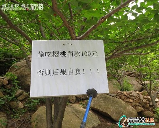 Qingdao Laoshan Beizhai Manor: be careful