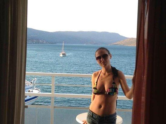 Hotel Aristea: Вид из номера