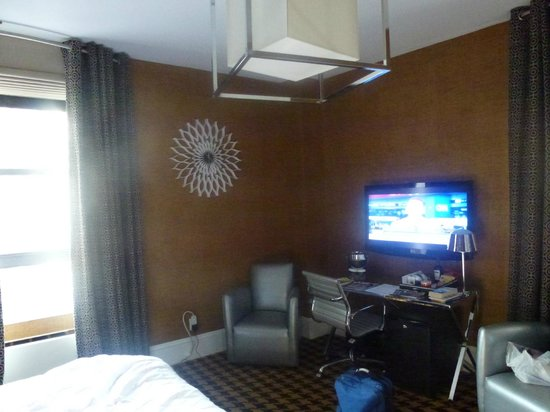 View of actual Hotel Room