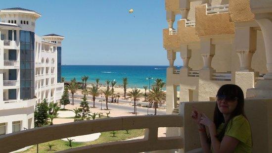 Hotel Safa : вид из окна номера