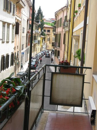 B&B in Centro Citta: view from the balcony