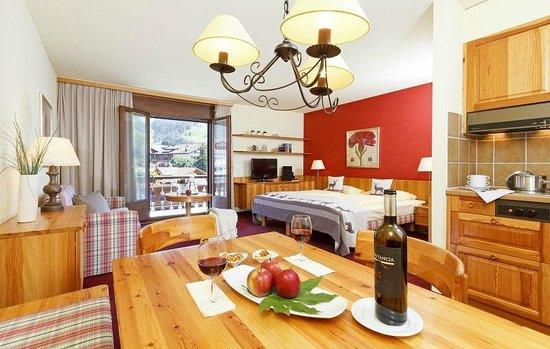 Hotel Piz Buin Klosters: Studio Superior