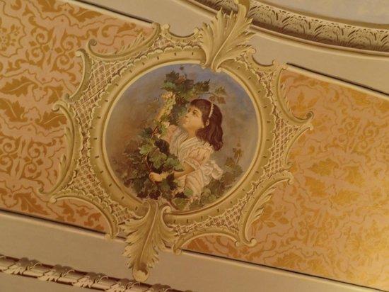 Hotel Novecento: Deckenmalerei