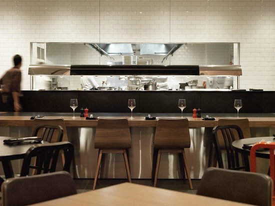 Adelphi Grill: Chefs table