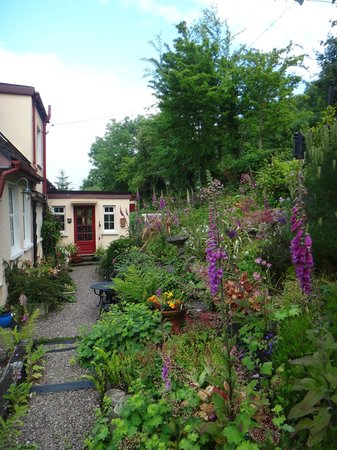 Glencairn Bed and Breakfast: the garden