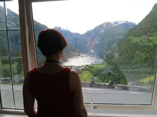 Hotell Utsikten: Utsikt från rummet