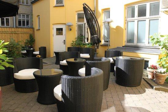Copenhagen Star Hotel: Courtyard