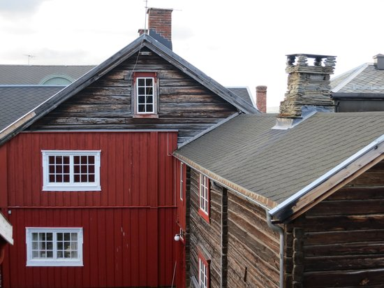 Vertshuset Roros: Utsikt från rummet