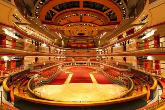The interior of Symphony Hall as seen from the choir seats - credit Craig Holmes