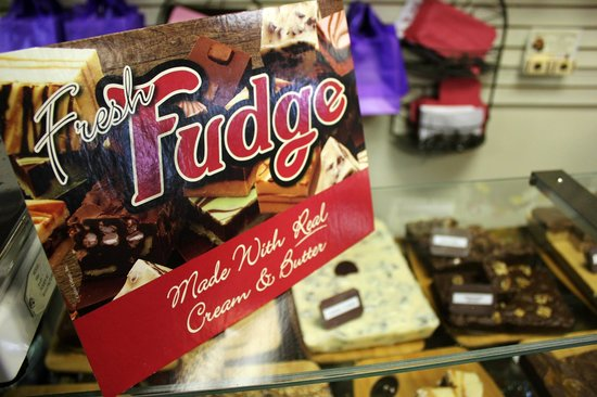 Fresh fudge made daily in-store! (Sweet Expressions, Finger Lakes)