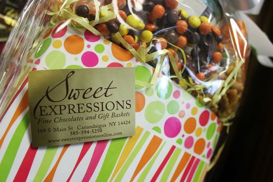 Gift baskets - a great way to show appreciation! (Sweet Expressions, Finger Lakes)