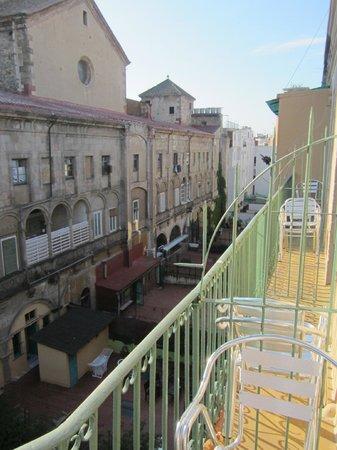 Hostal La Terrassa: balcon 3° étage