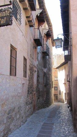 Calle Portal de Molina : Albarracín