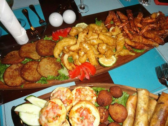 Coral Blue Seafood Restaurant: Seafood Starter