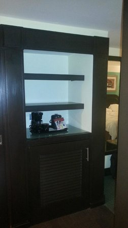 Barcelo Santo Domingo: Couloir ou se trouve le réfrigerateur