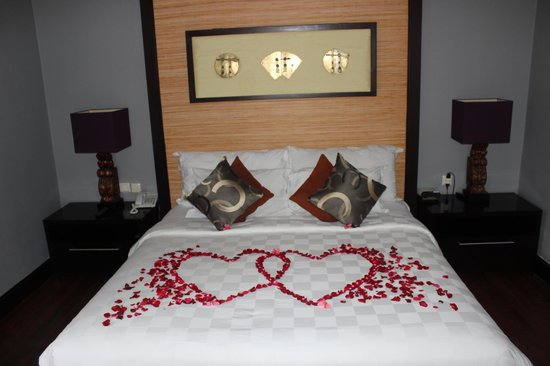 Pradha Villas Decoration On Wedding Night Compliments By The Hotel