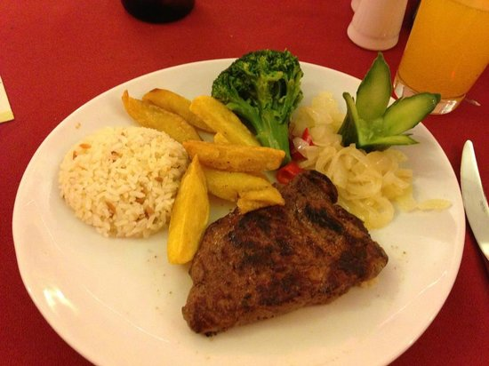 Sunset Restaurant: Fillet Steak
