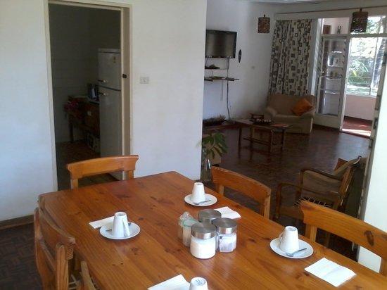 The Villa Victoria : The Breakfast room