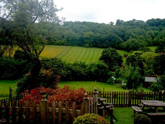 The Three Horseshoes Inn: Room with a view