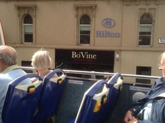 โรงแรมฮิลตัน กลาสโกว์ กรอสเวเนอร์: Bo'Vine