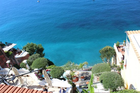 Hotel Marincanto: View looking down from balcony