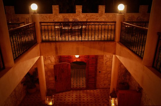 Riad Dar Etto: patio view
