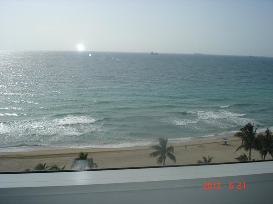 Sonesta Fort Lauderdale Beach: The view from room 902