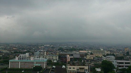 Kuretake Inn Mt. Fuji : 晴れたら窓から富士山がみえる…はず