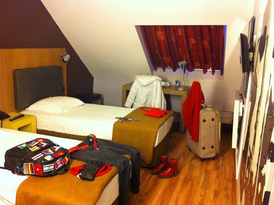 Eurocap Hotel: attic room
