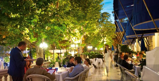 Goya Restaurant Terrace Madrid Jeronimos Menu Prices