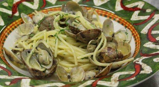 Pescheria Rossini : spaghetti vongole veraci